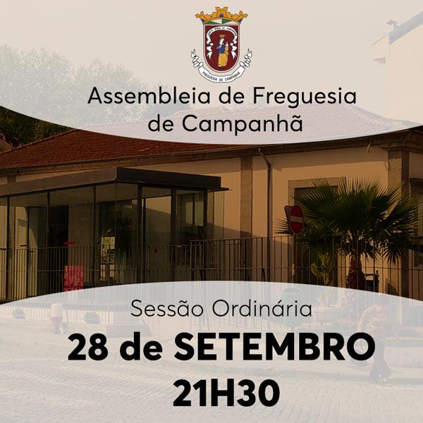 Assembleia Freguesia - 28 set.