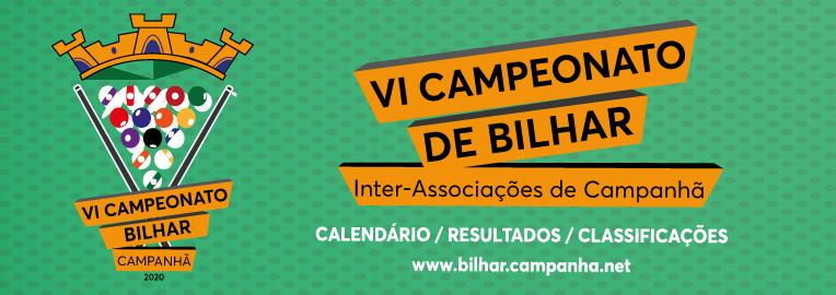 VI Campeonato de Bilhar Snooker - Interassociações de Campanhã