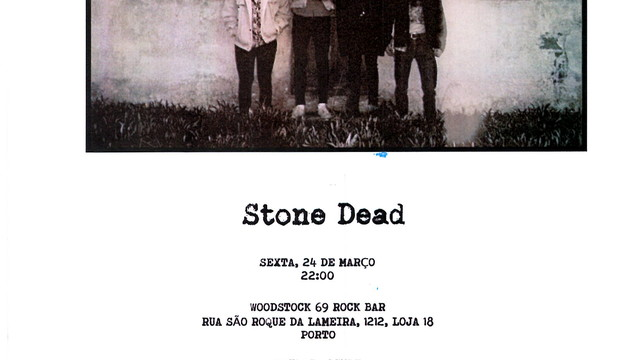"O ROCK REGRESSA COM ""STONE DEAD"""