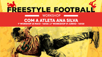 Workshop de Freestyle Football na Escola do Cerco